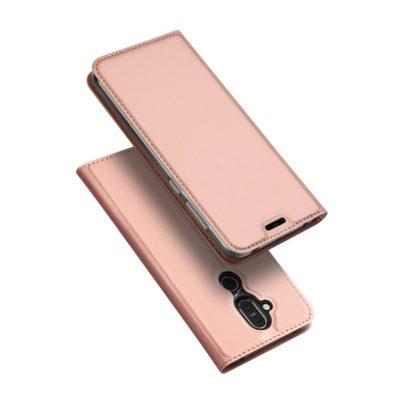 Nokia 8.1 Suojakotelo Dux Ducis Ruusukulta