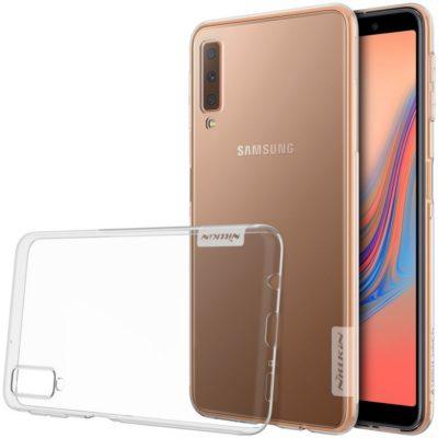 Samsung Galaxy A7 (2018) Suojakuori Nillkin Läpinäkyvä