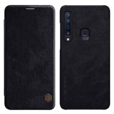 Samsung Galaxy A9 (2018) Kotelo Nillkin Qin Musta