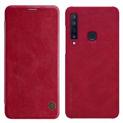 Samsung Galaxy A9 (2018) Kotelo Nillkin Qin Punainen