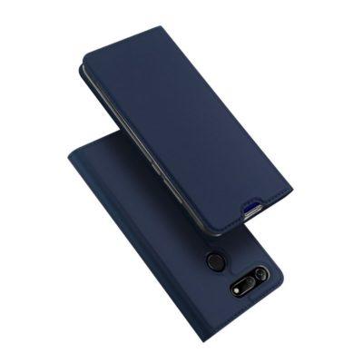 Huawei Honor View 20 Kotelo Dux Ducis Tummansininen