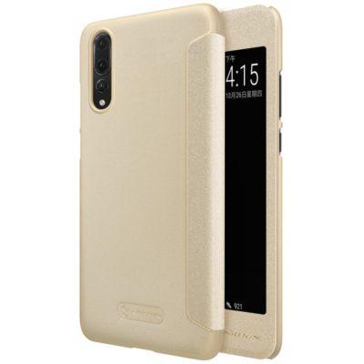Huawei P20 Pro Suojakotelo Nillkin Sparkle Kulta