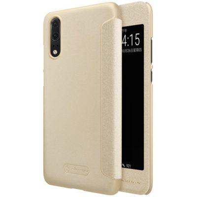 Huawei P20 Suojakotelo Nillkin Sparkle Kulta
