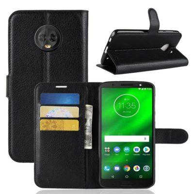 Motorola Moto G6 Plus Suojakotelo Musta