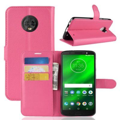 Motorola Moto G6 Plus Suojakotelo Pinkki