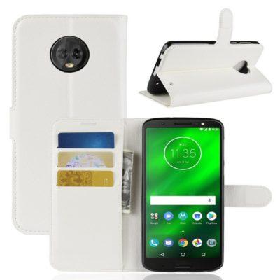 Motorola Moto G6 Plus Suojakotelo Valkoinen