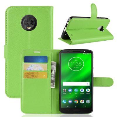 Motorola Moto G6 Plus Suojakotelo Vihreä