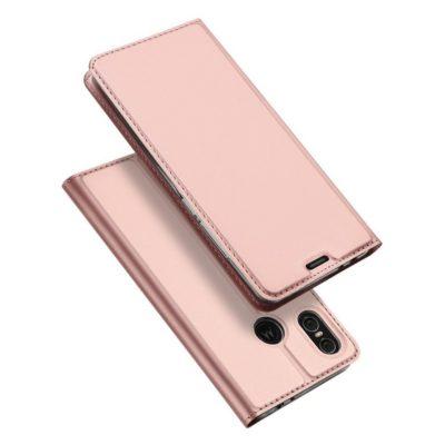 Motorola One Suojakotelo Dux Ducis Ruusukulta