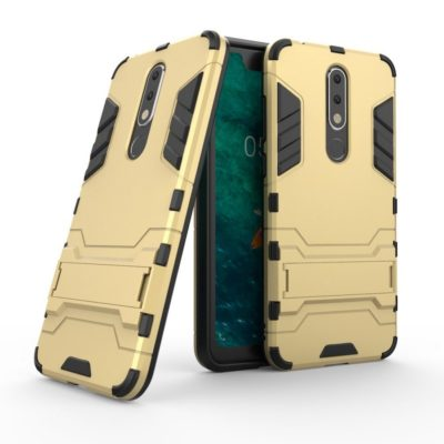 Nokia 5.1 Plus Kuori 2-osainen Kulta