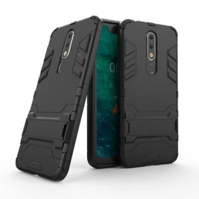 Nokia 5.1 Plus Kuori 2-osainen Musta