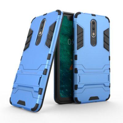 Nokia 5.1 Plus Kuori 2-osainen Sininen