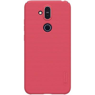 Nokia 8.1 Suojakuori Nillkin Frosted Punainen