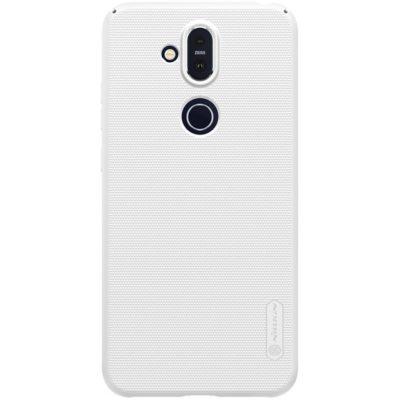 Nokia 8.1 Suojakuori Nillkin Frosted Valkoinen
