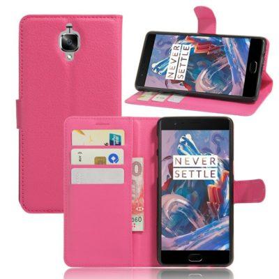 OnePlus 3 / 3T Lompakkokotelo Pinkki