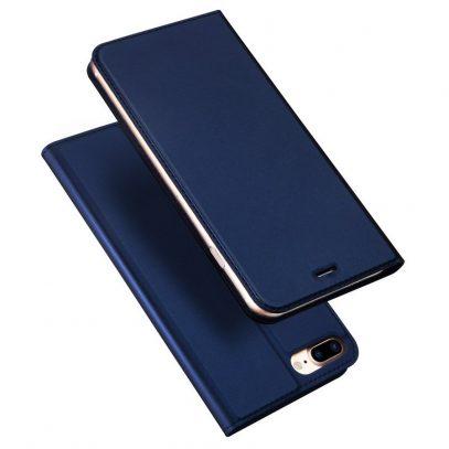 Apple iPhone 7 / 8 Plus Kotelo Dux Ducis Tummansininen