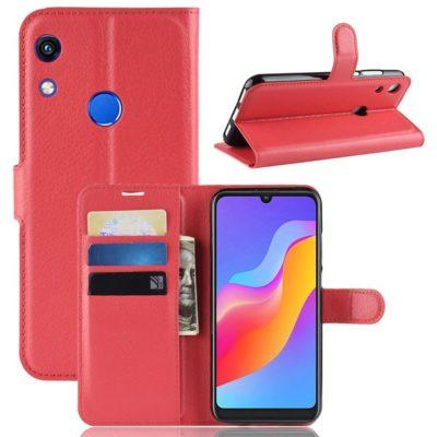 Huawei Honor 8A Kotelo Punainen Lompakko