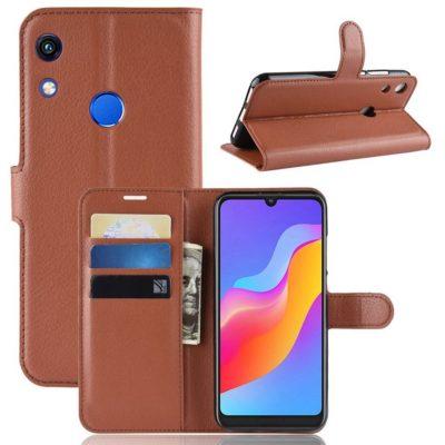 Huawei Honor 8A Kotelo Ruskea Lompakko