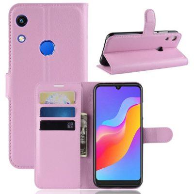 Huawei Honor 8A Kotelo Vaaleanpunainen Lompakko
