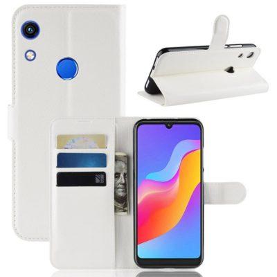 Huawei Honor 8A Kotelo Valkoinen Lompakko