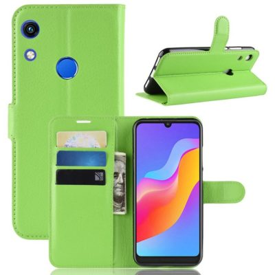 Huawei Honor 8A Kotelo Vihreä Lompakko