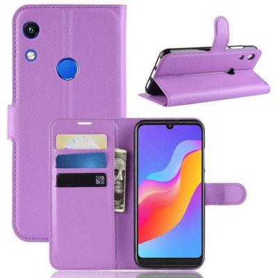 Huawei Honor 8A Kotelo Violetti Lompakko