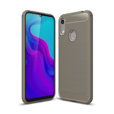 Huawei Honor 8A Suojakuori Hiilikuitu Harmaa