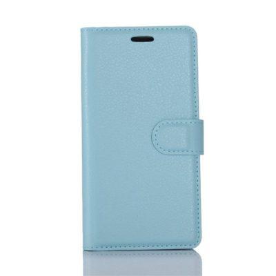 LG G6 H870 Lompakko Suojakotelo Vaaleansininen