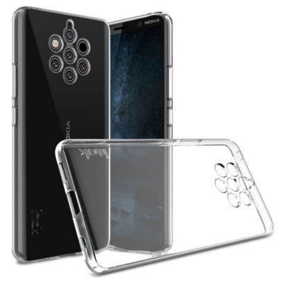Nokia 9 PureView Suojakuori IMAK Läpinäkyvä