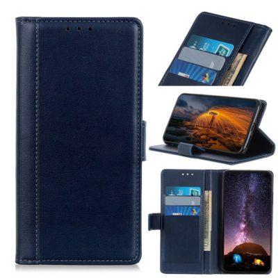 Samsung Galaxy A50 Lompakko Suojakotelo Tummansininen