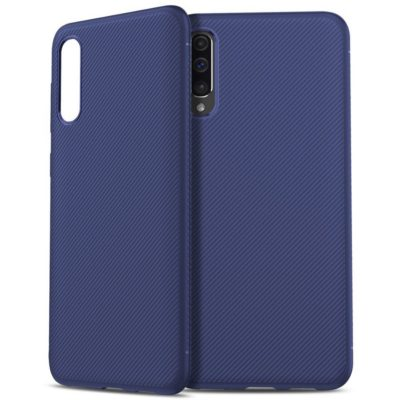 Samsung Galaxy A50 Suojakuori Silikoni Sininen
