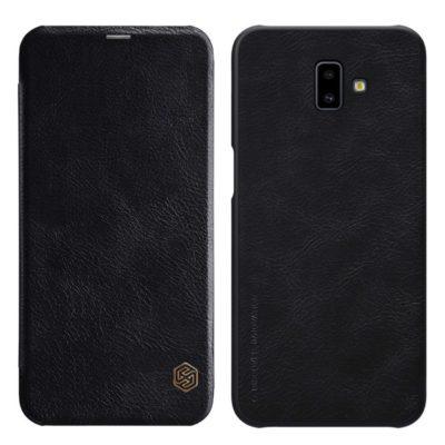 Samsung Galaxy J6+ (2018) Kotelo Nillkin Qin Musta