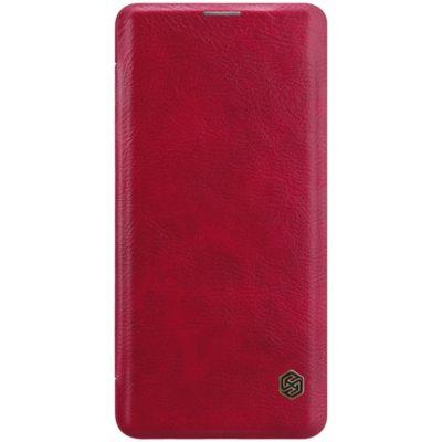 Samsung Galaxy S10 Kotelo Nillkin Qin Punainen