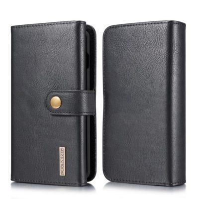 Samsung Galaxy S10 Lompakko DG.MING Musta