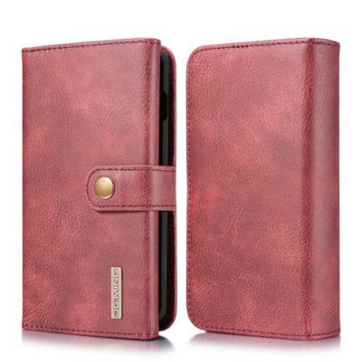 Samsung Galaxy S10 Lompakko DG.MING Punainen