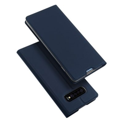 Samsung Galaxy S10+ Kotelo Dux Ducis Sininen