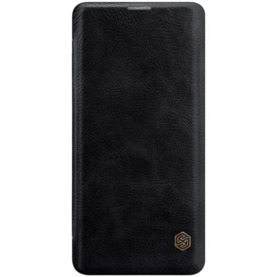 Samsung Galaxy S10+ Kotelo Nillkin Qin Musta