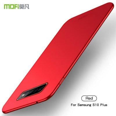 Samsung Galaxy S10+ Kuori MOFI Slim Punainen