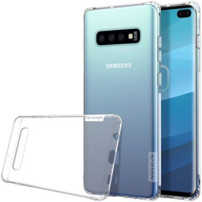 Samsung Galaxy S10+ Kuori Nillkin Nature Läpinäkyvä