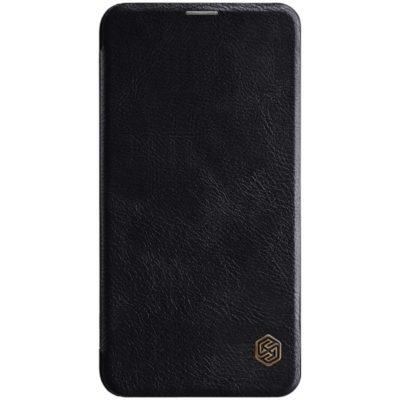 Samsung Galaxy S10e Kotelo Nillkin Qin Musta