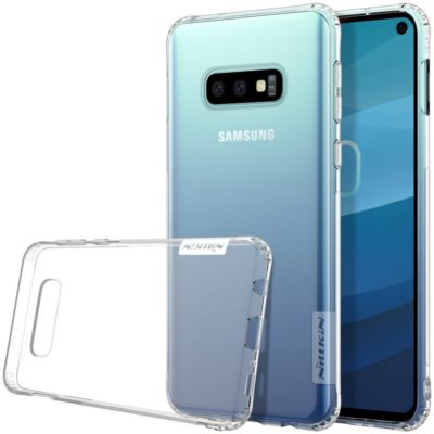Samsung Galaxy S10e Suojakuori Nillkin Läpinäkyvä