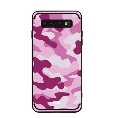 Samsung Galaxy S10e Suojakuori NXE Camo Vaaleanpunainen