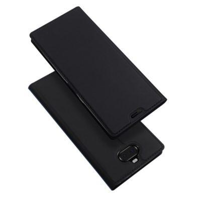 Sony Xperia 10 Kotelo Dux Ducis Tummanharmaa