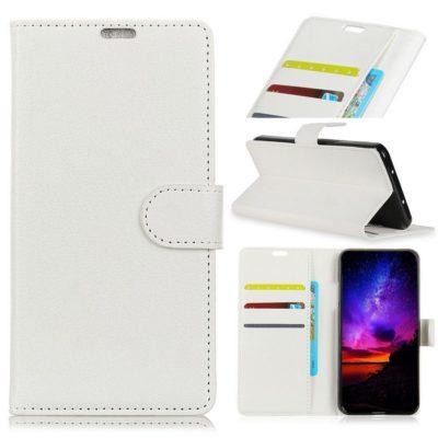 Sony Xperia L3 Suojakotelo Valkoinen Lompakko