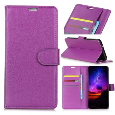 Sony Xperia L3 Suojakotelo Violetti Lompakko