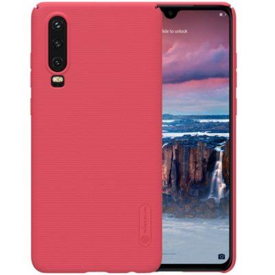 Huawei P30 Suojakuori Nillkin Frosted Punainen
