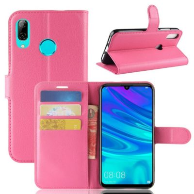 Huawei Y7 (2019) Suojakotelo PU-Nahka Pinkki