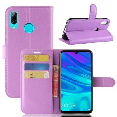 Huawei Y7 (2019) Suojakotelo PU-Nahka Violetti