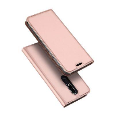 Nokia 3.1 Plus Suojakotelo Dux Ducis Ruusukulta