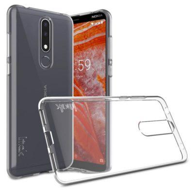 Nokia 3.1 Plus Suojakuori IMAK Läpinäkyvä