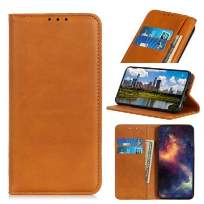 Samsung Galaxy A40 Kannellinen Kotelo Ruskea